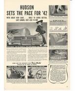 1941 Vintage Ad Hudson Cars, Drive-Master - $8.99