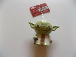 Hallmark Disney Star Wars Yoda Christmas Holiday Ornament New 2016 - $15.00