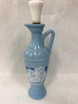 Vintage Grecian Jim Beam Decanter Socrates Aristotle Plato Greek Vase Pi... - $23.75