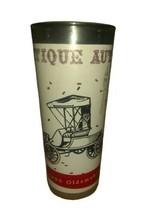 Vintage Drinking Glass - Antique Autos 1900 Oldsmobile - $14.84