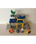 Fisher Price Little People Fun Sound Crane Construction Quarry Play Set ... - $14.99