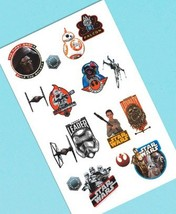 Star Wars Force Awakens VII Temporary Tattoos 16 Party Favors Tattoo - $2.83 CAD