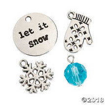 Let it Snow Charm Assortment - $8.36