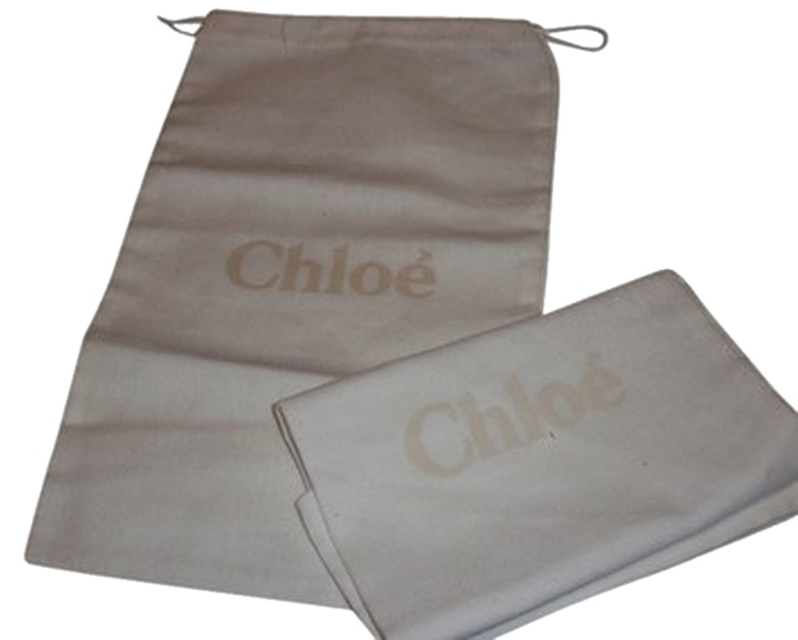 New Set of 2 Chloe Sleeper/ Dust Bag / Protective Cover 7 inch width x 13 inch