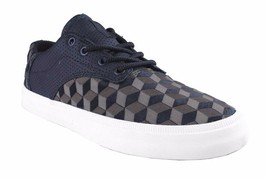 Supra Men's Olive Drab/Black/White Isometric 3D Cube Pistol Low Top Sneakers NIB