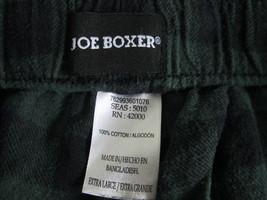 Men's Size XL green/black plaid pajama bottoms By Joe Boxer  MTLA012 - $7.91