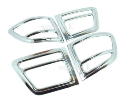 CHROME TAIL LIGHT COVER TRIM FOR TOYOTA FORTUNER 2005 2006 2007 2008 - $51.51