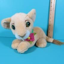 Disney Mattel Lion King Purring Nala Baby Cub Plush Flower Collar Vintag... - $17.95