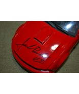 AUTOGRAPHED/Signed Team Caliber 1:18 2005 Ford Mustang Jack ROUSH USA RED #1289 - $280.14