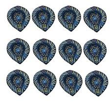 12 x DIY blue leaf festival lights traditional Diwali occasion diya OIL ... - $24.75