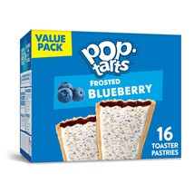 Pop-Tarts,  Toaster Pastries, Frosted Blueberry,  16 Ct, - $7.00