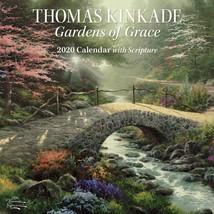 Thomas Kinkade ~ Gardens of Grace 2020 Mini Wall Calendar with Scripture... - $9.99