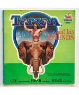 Tarzan and His Friends 7' Vinyl Record / Book, Kid Stuff -DBR 210, 1983 - $38.95