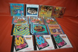 14 Assorted 60's Peace Love Spirit Music CD's  - $79.19