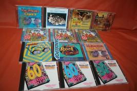 14 Assorted 60's Peace Love Spirit Music CD's  - $79.19