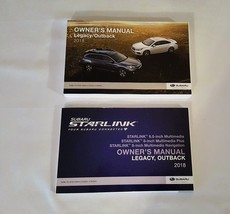 2018 Subaru Legacy / Outback Owners Manual with Nav Manual 05180 - $22.72