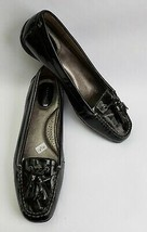 Sperry Top Sider Shoes Flats Black Tassel Patent Leather Womens Size 9 M - $49.45