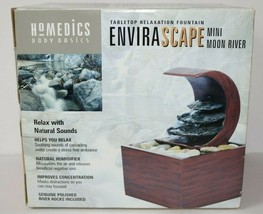 New Homedics Envirascape Relaxation Fountain- Mini Moon River - NIB - $38.70