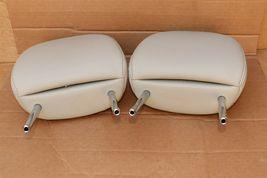12-14 Prius-V Front Seat Headrest Head Rest Set Softex Faux-leather -BISQUE image 5