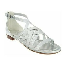 Marc Fisher Women Gladiator Sandals Play Size US 7M Silver - $29.94