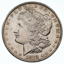 1878 7TF Rev of 78 $1 Silver Morgan Dollar AU Condition, Nice Eye Appeal - $103.94