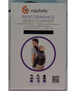 New! 100% Authentic! Ergobaby Performance Collection Carrier, Charcoal Grey - $99.99