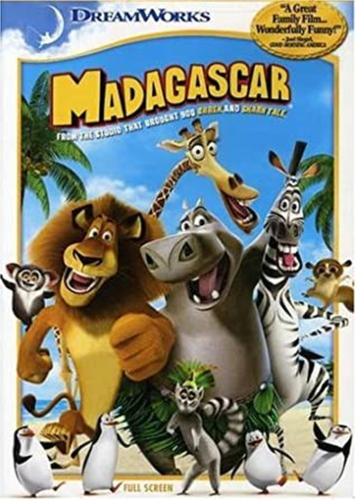 Madagascar Movie Dvd