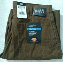 """Dickies Men's 11"""" Relaxed Fit Lightweight Duck Carpenter Shorts image 1"""