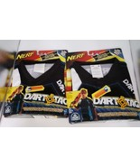Nerf Dart Tag Shirts Lot 2 Blue Team L XL Official Competition Black - $44.95