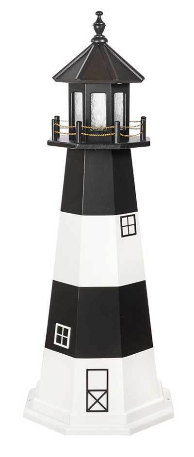 Primary image for FIRE ISLAND NY LIGHTHOUSE Long Island New York Working Replica 6 Sizes AMISH USA