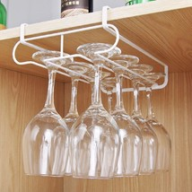 1PC Stainless Steel Cup Holder Double-row Cup Holder Wine Goblet Rack Wi... - $31.90