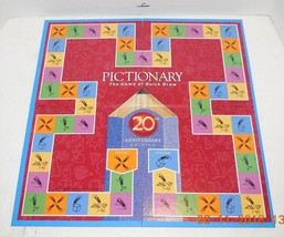 Pictionary 20th Anniversary Edition Original Replacement Game Board - $9.50