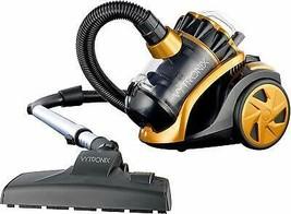 Powerful Light Compact Cyclonic Bagless Cylinder HEPA Vacuum Cleaner Hoo... - $57.08