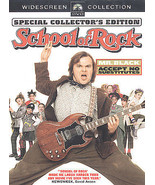 The School of Rock (DVD, 2004, Full Frame) Sarah Silverman, Jack Black - $1.95