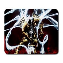 Mouse Pad Diablo 3 Monsters Smoke Action Battle Sword Light Video Game A... - €7,93 EUR