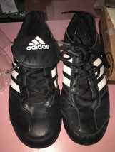 Adidas Black With Pink Women's Size 5 Cleats  - $14.45
