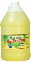 Best Maid Dill Juice One Gallon #1 Pickle in Texas Tastes Great Free Shi... - $25.13