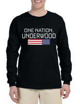 Men's Long Sleeve House Of Underwood One Nation Cool Tee - $14.94+