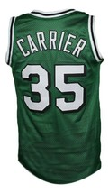 Darel Carrier #35 Kentucky Colonels Aba Basketball Jersey New Green Any Size image 2
