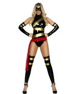 Forplay Haute Hero Comic Book Superhero Adult Womens Halloween Costume 5... - $54.99
