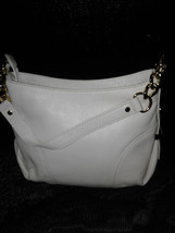 Michael Kors Vanilla Small Jet Set Leather Purse- with Chain & Leather S... - $125.00