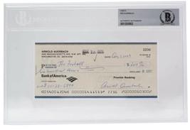 Red Auerbach Boston Celtics Signed Personal Check #2236 8/1/2003 Slabbed BAS - $395.99