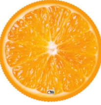 Terry Time Delicious Juicy Orange Beach Towel   - $23.35
