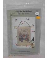 "Great 4"" X 5.5"" Lorri Birmingham Cross Stitch Kit Wall Hanging Bless My ... - $33.72"