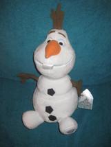 Disney Store Frozen Olaf Toy Doll Plush 13.5 inch Snowman Medium. Brand ... - $29.69