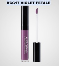 KISS NEW YORK PROFESSIONAL LUXE CREAMY LIP GLOSS KCG17 VIOLET FETALE - $2.96