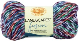Lion Brand Landscapes Fusion Yarn Fort Tryon - $8.77