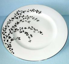 "Kate Spade Gardner Street Platinum Salad Dessert Plate 8"" New - $21.90"