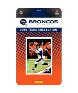Denver Broncos NFL Team Set 2018 Donruss**Free Shipping** - $15.25