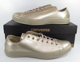 Converse Chuck Taylor All Star Ox Oxford Low Lo Top Sneaker LIGHT GOLD 157664F - $65.00